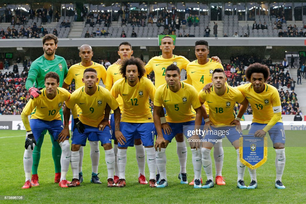 Japan  v Brazil  -International Friendly : Fotografia de notícias