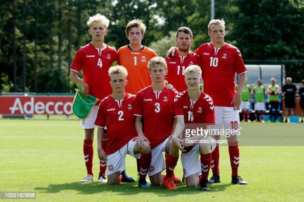 Teamphoto Denmark back row Oliver Larsen of Denmark, Mads Christian Fomsgaard of Denmark, Martin Wolf of Denmark, Emil Moller of Denmark front row...