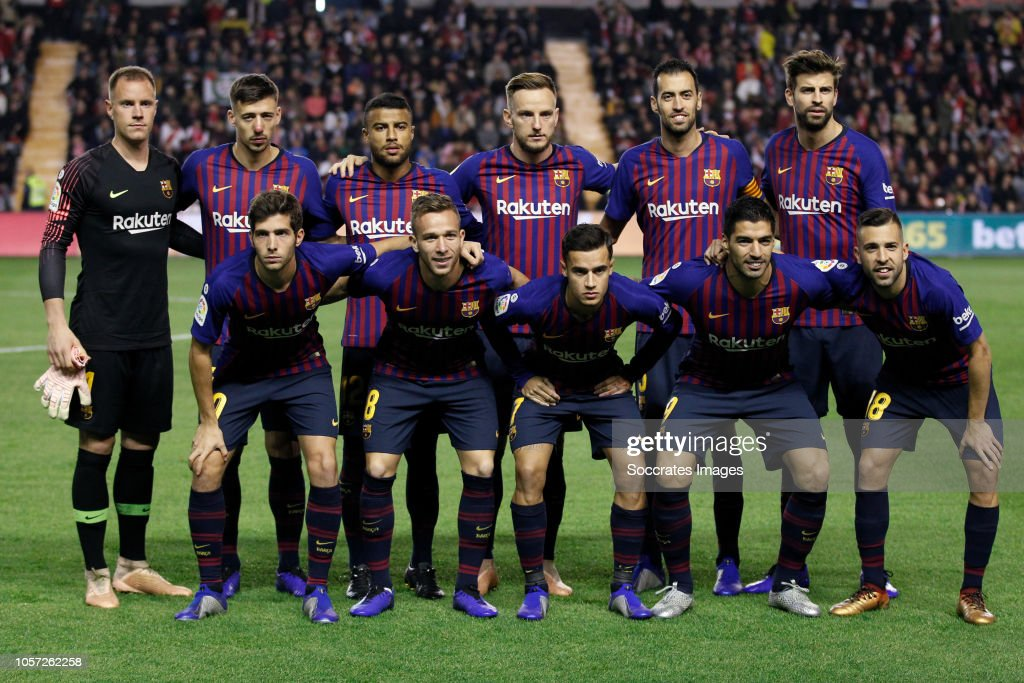 Rayo Vallecano v FC Barcelona - La Liga Santander : News Photo