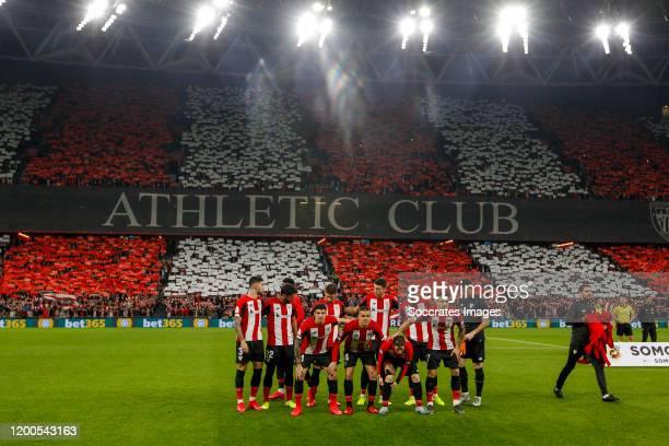 teamphoto of Athletic Bilbao Unai Nunez of Athletic Bilbao Raul Garcia of Athletic Bilbao Inigo Martinez of Athletic Bilbao Vesga of Athletic Bilbao...