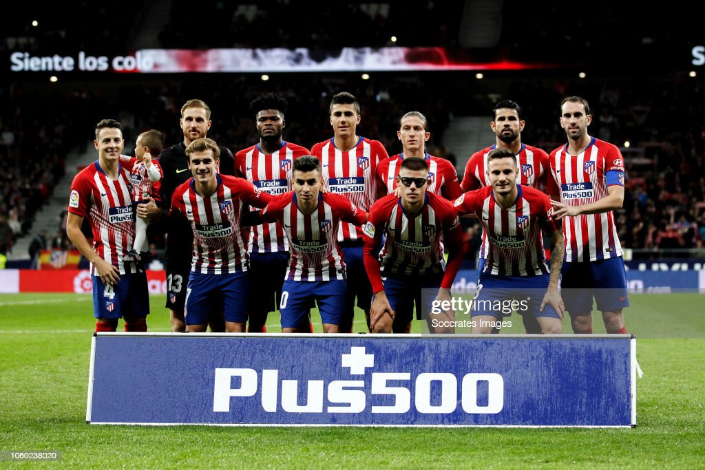 Atletico Madrid v Athletic de Bilbao - La Liga Santander : News Photo