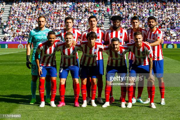 teamphoto of Atletico Madrid Jan Oblak of Atletico Madrid Riquelme of Atletico Madrid Stefan Savic of Atletico Madrid Thomas of Atletico Madrid...