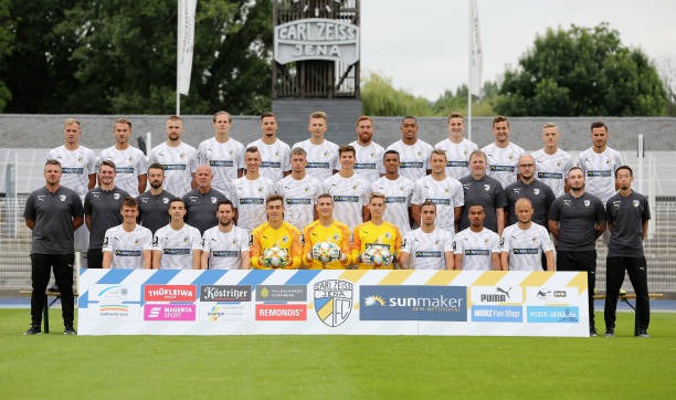DEU: FC Carl Zeiss Jena - Team Presentation