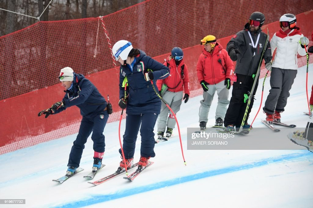 Alpine Skiing - Winter Olympics Day 9