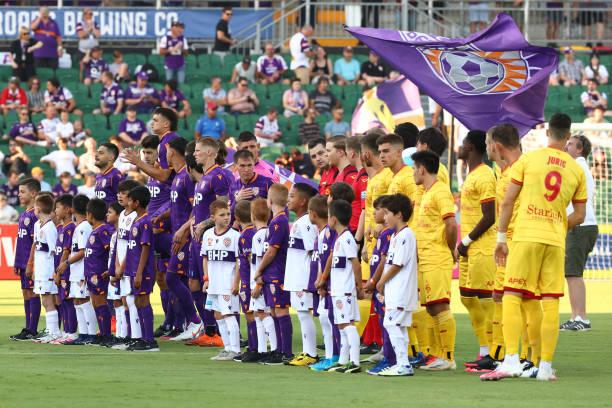 AUS: A-League - Perth Glory v Adelaide United