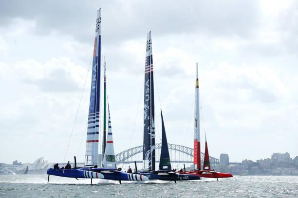AUS: SailGP Sydney Raceday 1