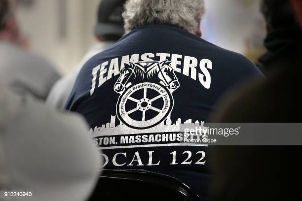Teamsters listen to Rep Richard Neal speak about efforts to save pensions in South Boston on Jan 24 2018 The promise of a monthly pension check once...