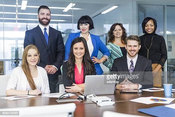 Teamwork at a Staff Meeting