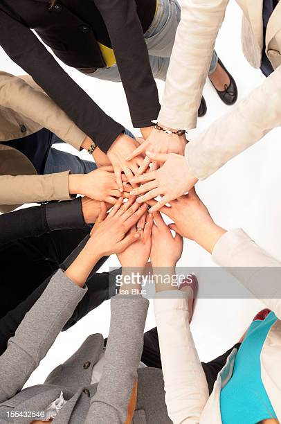 Teamwork Hands Clasped