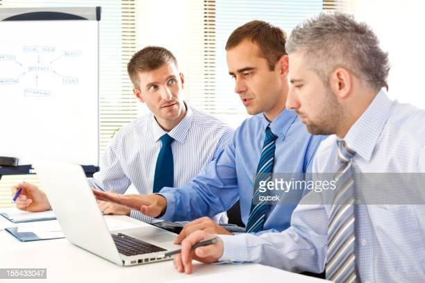 Teamwork in an office
