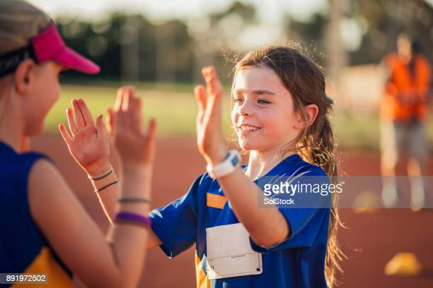 teamwork in athletics club - sports stock pictures, royalty-free photos & images