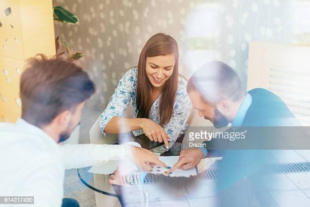 Teamwork in finance business