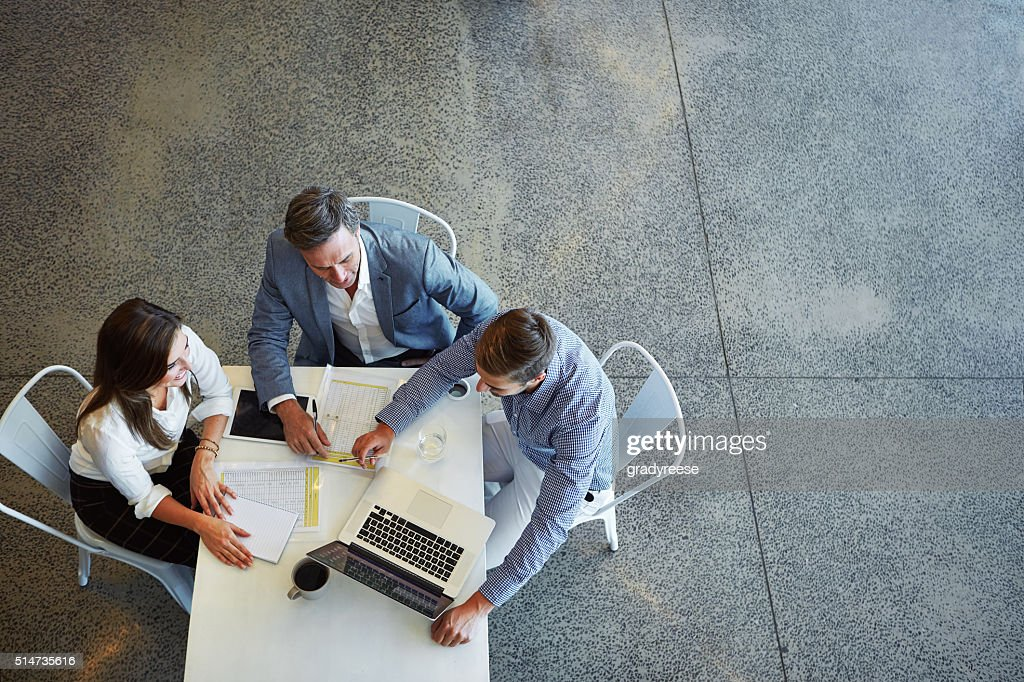 Teamwork is the way to success : Stock Photo