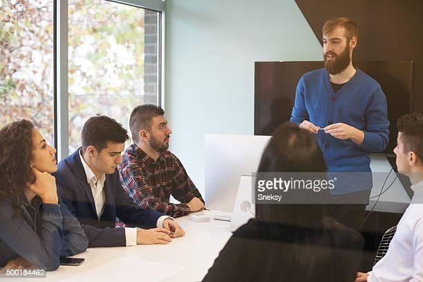 Teamarbeit macht den Traum Arbeiten
