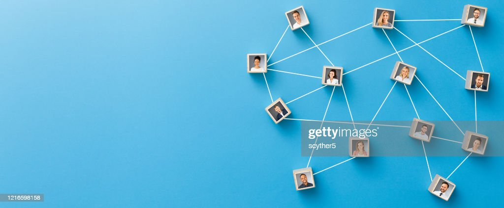 Teamwork, network and community concept. : Stock Photo