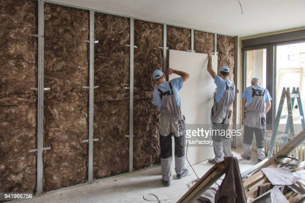 teamwork on construction site close up - acoustic music stock pictures, royalty-free photos & images