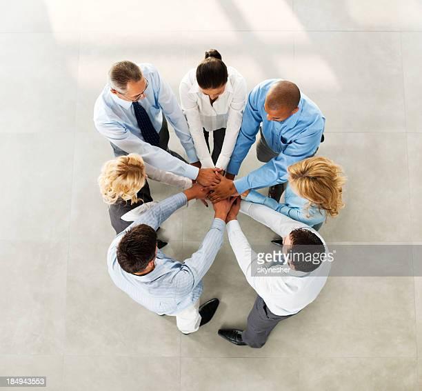 Teamarbeit.