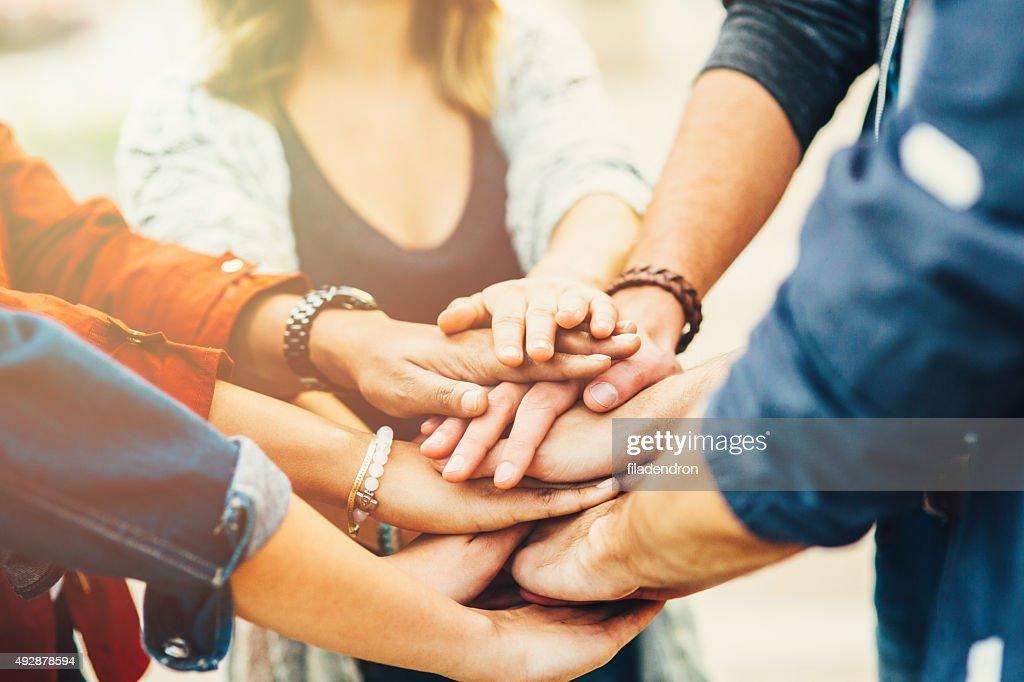 Teamwork (Teamarbeit) : Stock-Foto