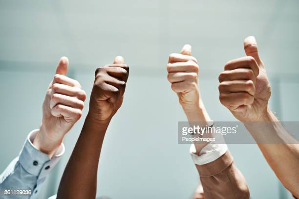 teamwork will always be our best work - satisfaction stock photos and pictures