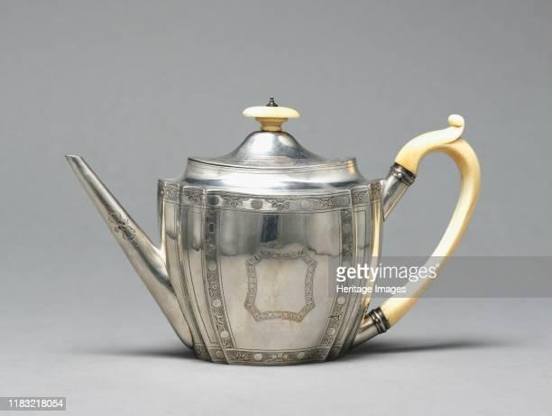 Teapot 1795 Creator Chantilly Porcelain Factory
