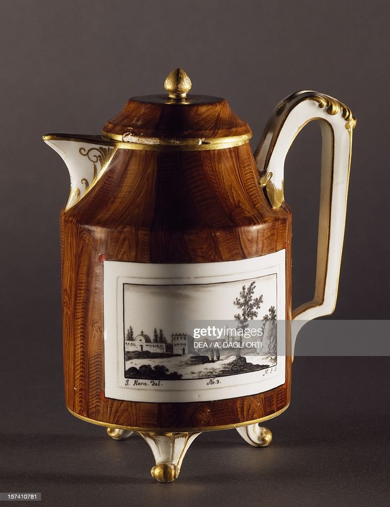 Teapot, Viennese manufacture