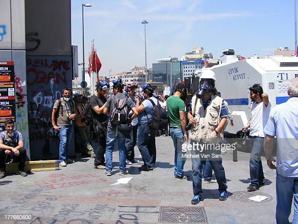 CONTENT] Tear gas victims at Taksim Square June 2013