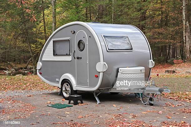 Teardrop camper Y-3 trailer dans le Smoky Mountains