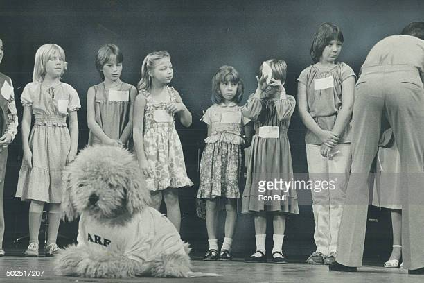 Tearful trauma One of the 300 budding acttresses auditioning for the starring role in Columbia Pictures' Annie based on the Broadway musical about...