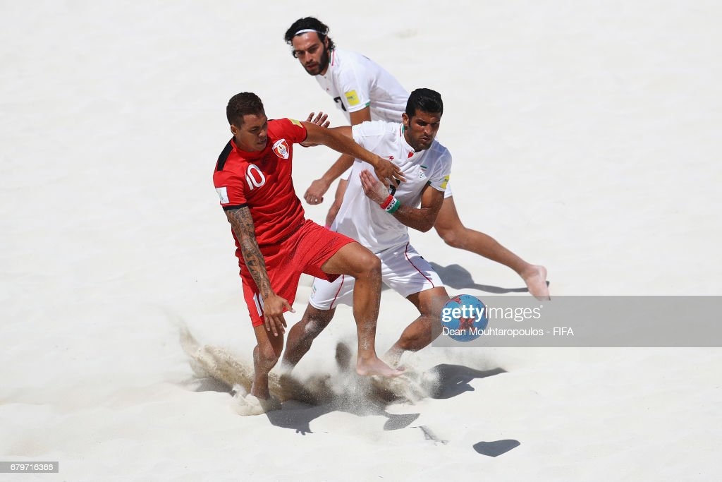 Iran vs Tahiti - FIFA Beach Soccer World Cup Bahamas 2017 : ニュース写真