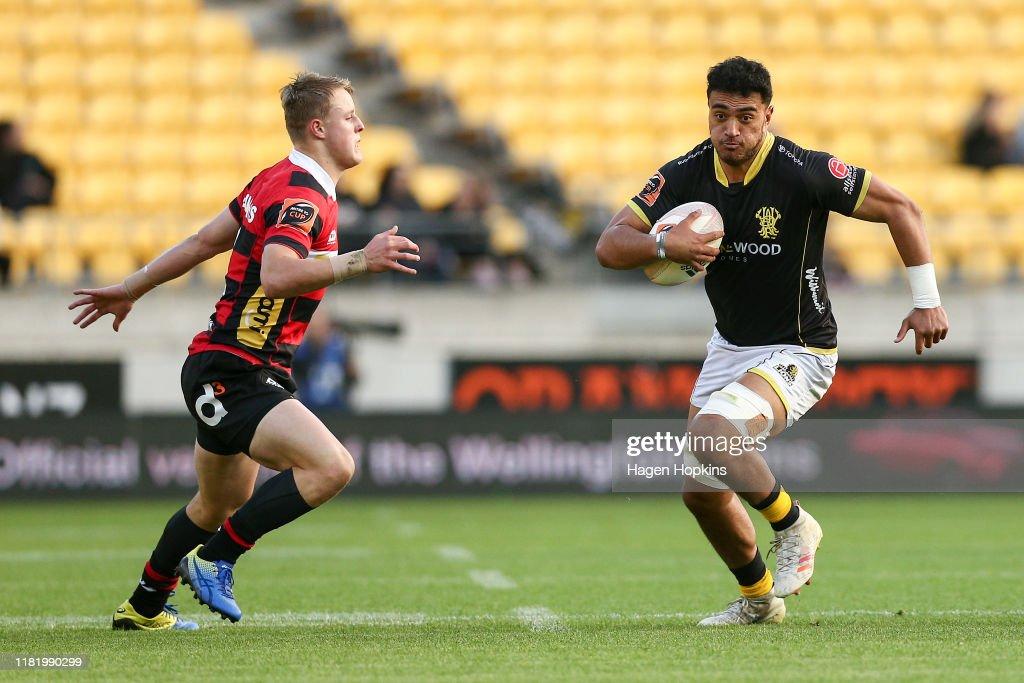 Mitre 10 Cup Premiership Semi Finals - Wellington v Canterbury : News Photo