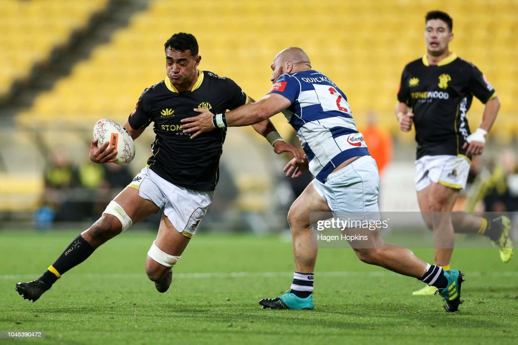 Mitre 10 Cup Rd 8 - Wellington v Auckland : News Photo