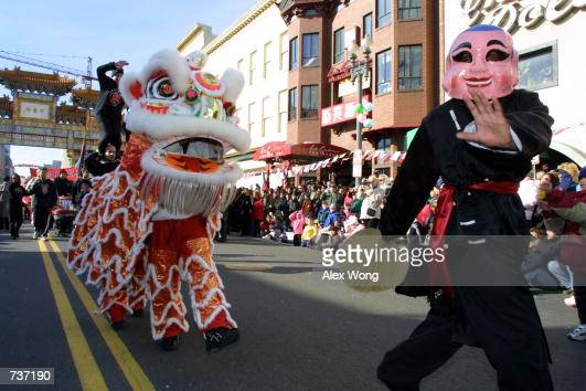 annual chinese new year parade in washington pictures getty images - Chinese New Year 2001