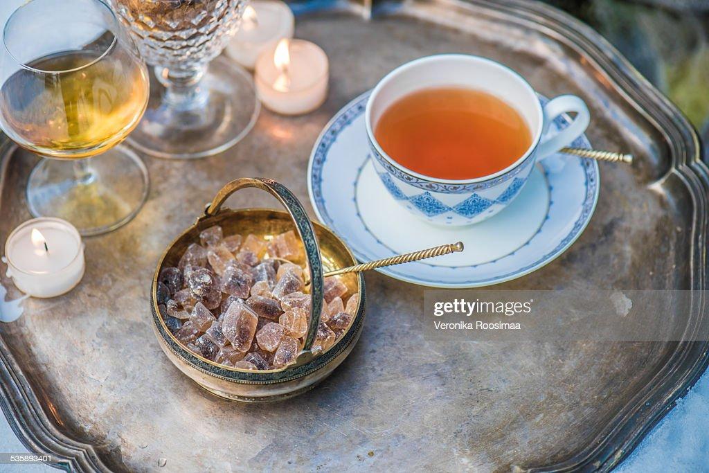 Teatime : Stock Photo