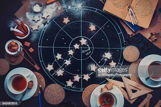 teatime under the polar star - fate stock photos and pictures