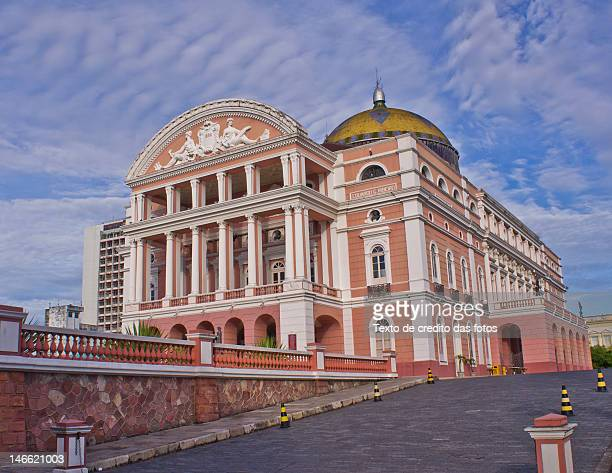 o teatro amazonas - manaus stock pictures, royalty-free photos & images