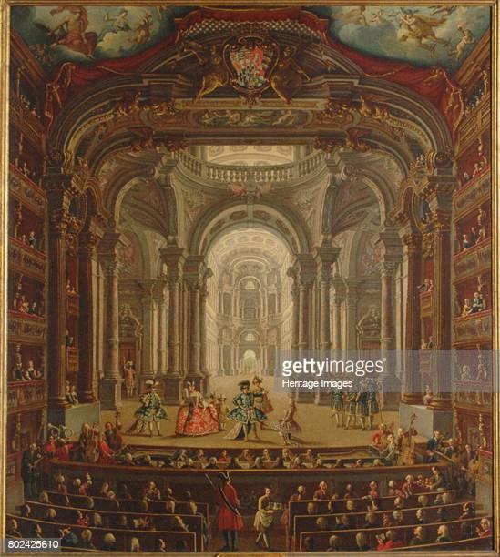 Teatro Regio di Torino 1752 Found in the collection of Palazzo Madama Torino