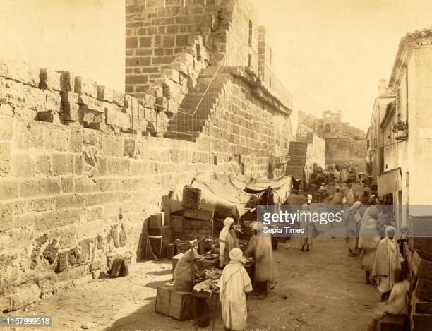 Tebessa Ramparts of the Byzantine Citadel interior view Algiers Neurdein brothers 1860 1890 the Neurdein photographs of Algeria including Byzantine...