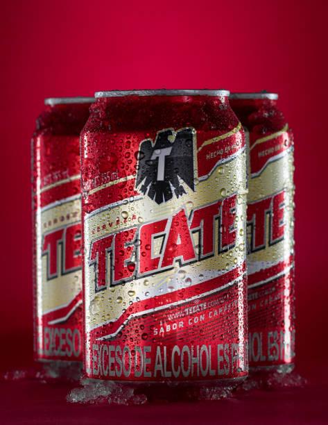 Tecate beer cans
