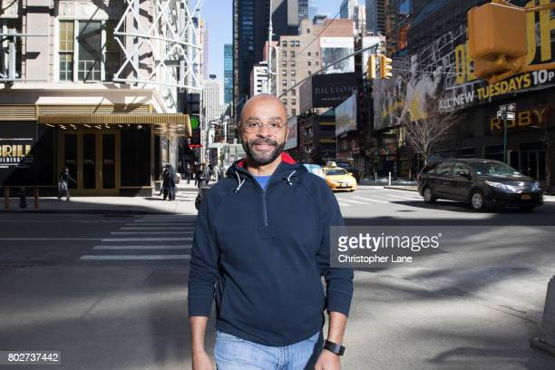 Tech entrepreneur and author Mo Gawdat is photographed for The Times on March 22, 2017 in New York City.
