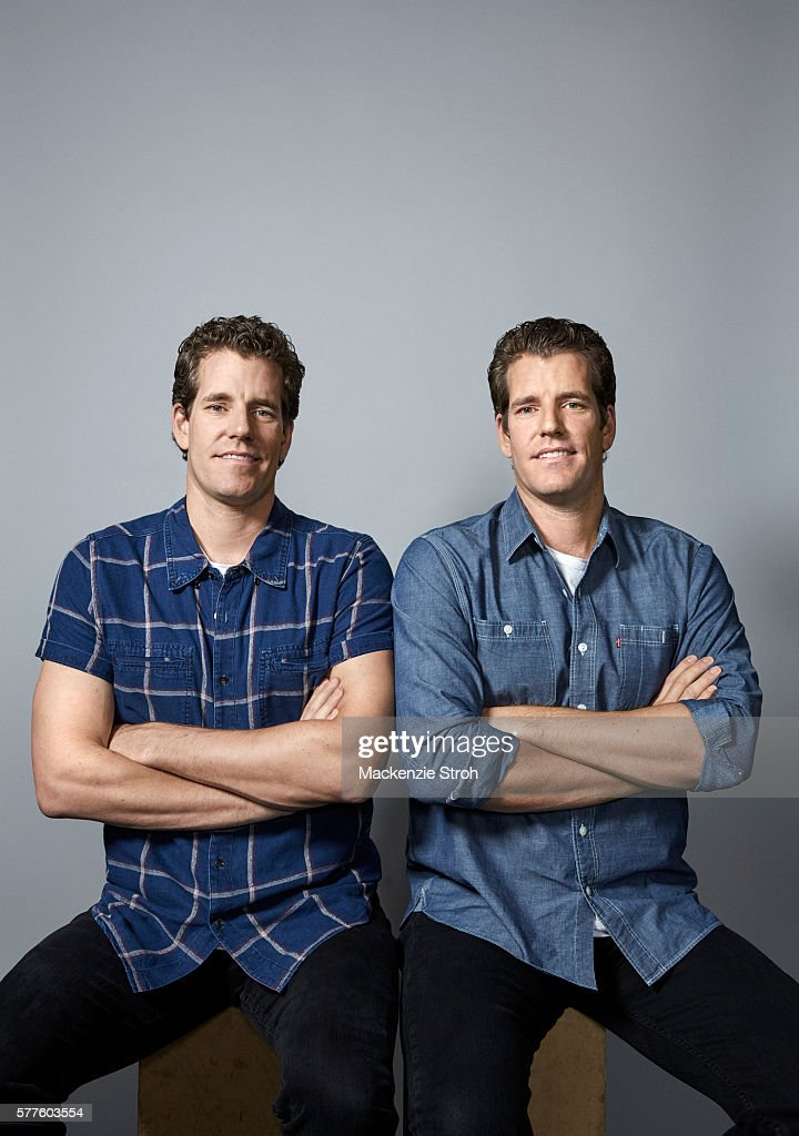 Cameron and Tyler Winklevoss, The Times, July 3, 2016