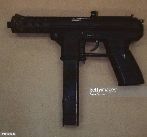 Tech–9 gun allegedly used to kill Nicholas Markowitz 15 His body was found in a shallow grave over the weekend in Santa Barbara