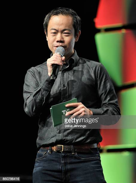 TechCrunch Battlefield host and senior writer Anthony Ha hosts the Startup Battlefield Final Competition during TechCrunch Disrupt SF 2017 at Pier 48...