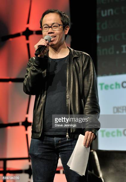 TechCrunch Host and Senior Writer Anthony Ha hosts the Startup Battlefield Competition during TechCrunch Disrupt SF 2017 at Pier 48 on September 19,...