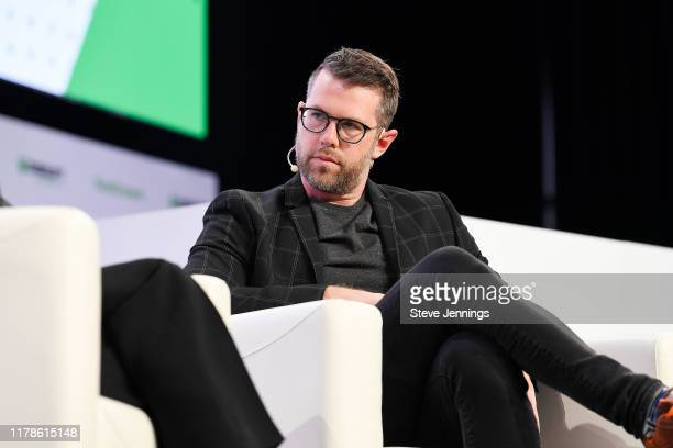 TechCrunch Writer Darrell Etherington speaks onstage during TechCrunch Disrupt San Francisco 2019 at Moscone Convention Center on October 02, 2019 in...
