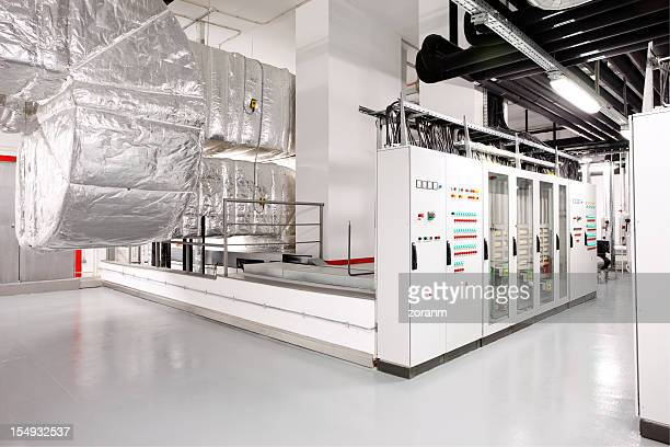 technical floor - cooling rack stock photos and pictures