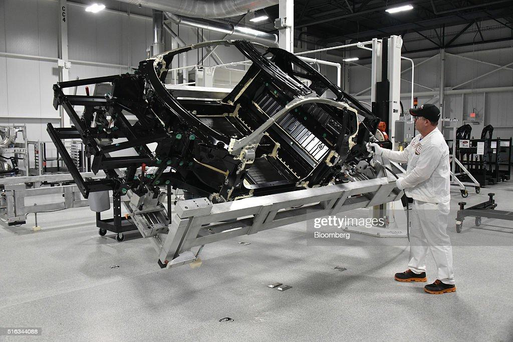 Inside The Honda Motor Co. Acura Performance Manufacturing Center : News Photo