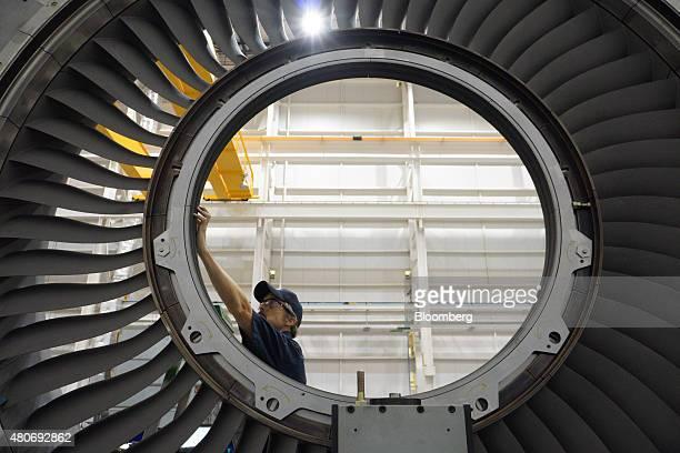 17 Turbine Engine Production At A Mitsubishi Hitachi Plant