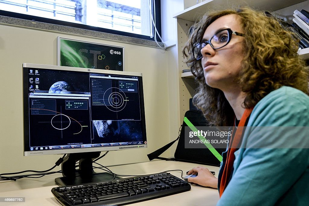 ITALY-SCIENCE-ASTRONOMY-SPACE-CONFERENCE : News Photo