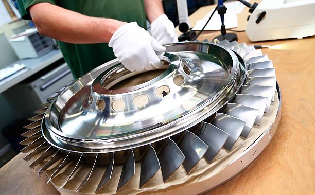Inside A Rolls Royce Deutschland Ltd Company Kg Factory