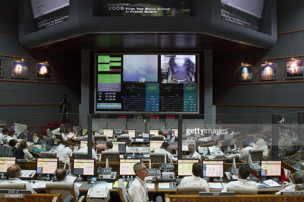 Technicians are on stand by in the Jupit : News Photo